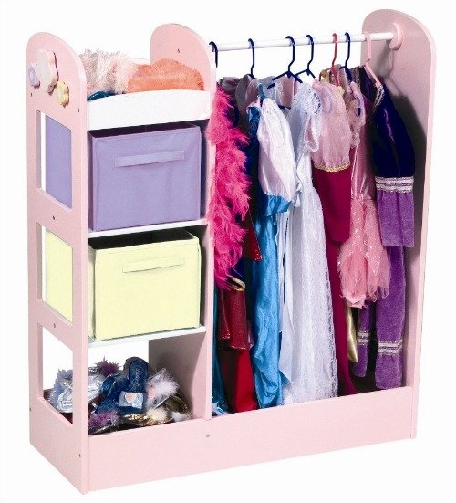 kids dress up clothes storage organization ideas. Black Bedroom Furniture Sets. Home Design Ideas