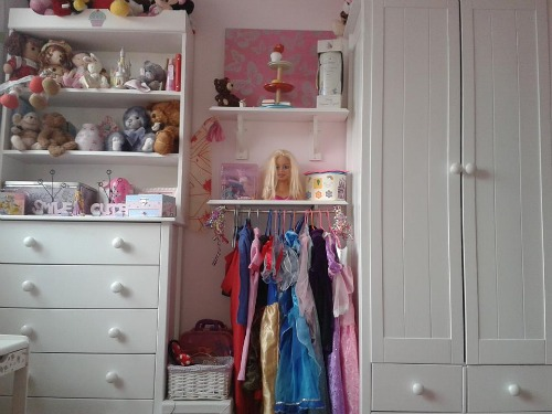 DIY dress up storage area {featured on Home Storage Solutions 101}