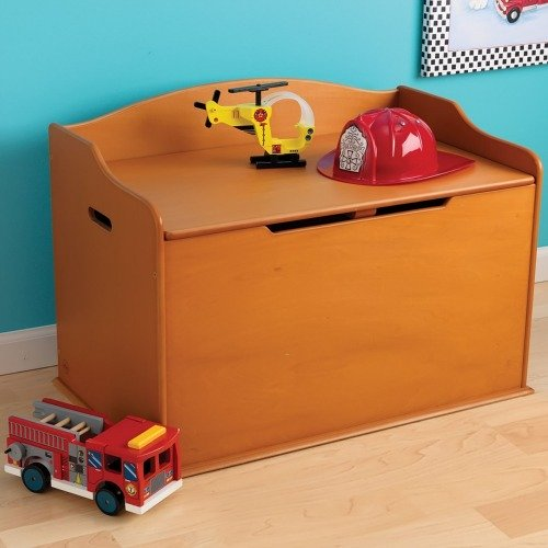 KidKraft dress up trunk, to hold kids' costumes or other toys {featured on Home Storage Solutions 101}