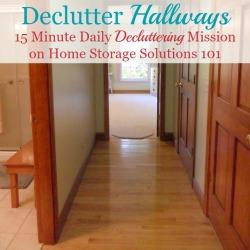 Hallway Clutter