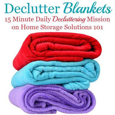 How To Declutter Blankets Comforters, Where To Donate Used Bedding And Towels