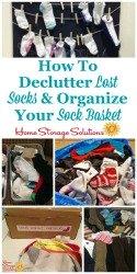 Declutter Lost Socks