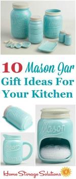 10 Mason Jar Gift Ideas