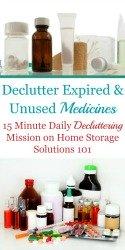 Medicine Clutter Removal