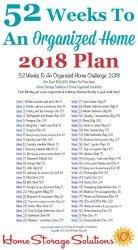 Organized Home 2018 Plan