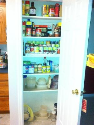 Small pantry after:)