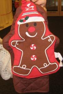 gingerbread potholder
