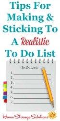 Free Realistic Printable To Do List