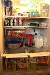 Organized refrigerator