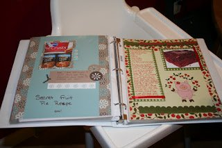 Binder for recipes that family likes