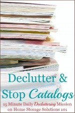 Declutter & Stop Catalogs