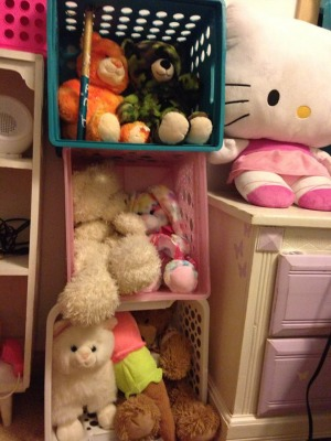DIY stuffed animal zoo