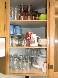 After - with added shelf expanders