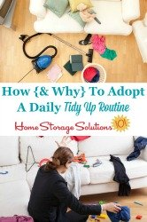 Tidy Up Routine