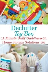 Get Rid Of Toy Clutter