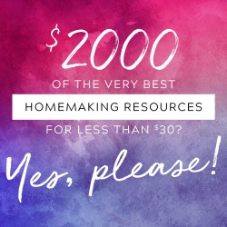 The 2017 Ultimate Homemaking Bundle