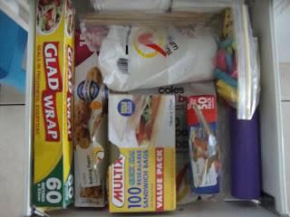 Aluminum Foil Plastic Bags Kitchen Wrap Storage Organization Ideas