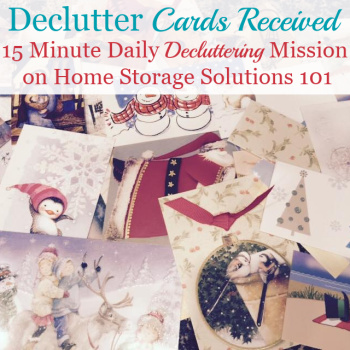 What To Do With Used Christmas Cards