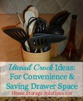 utensil crock ideas
