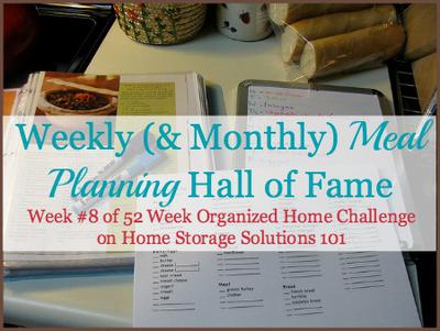 Weekly Meal Planner Hall Of Fame Ways To Plan Family Meals