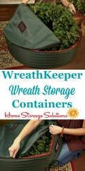 Wreath Storage Containers